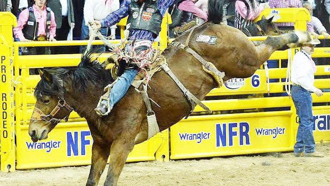 Many highly ranked and veteran pro rodeo standouts, such as Stephenville's Jacobs Crawley (pictured in this saddle bronc riding photo from 2018), will be among those competing in the 51st annual Cowboy Captial of the World Pro Rodeo, Aug. 25-27.
