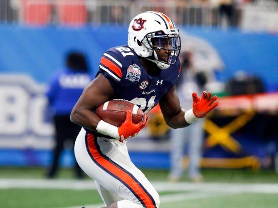 Kerryon Johnson, running back, Auburn.