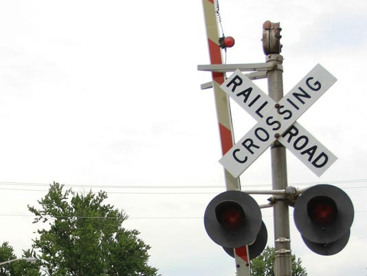 NEW Railroad crossing stock