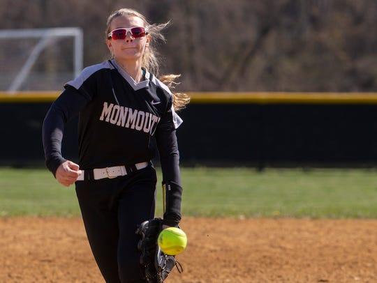 Monmouth Regional pitcher Karlee Smith. Monmouth Regional