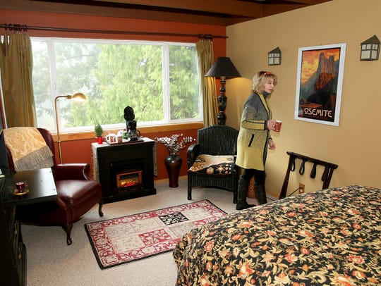 Kimberly King is the innkeeper and owner of the Green