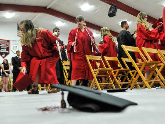 Pleasant High School celebrates the graduation of the