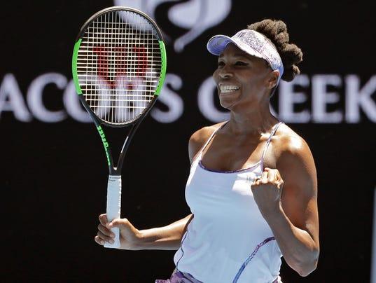Image result for Venus and Serena 2017 Australian open