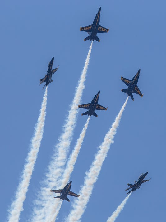 Blue Angels perform