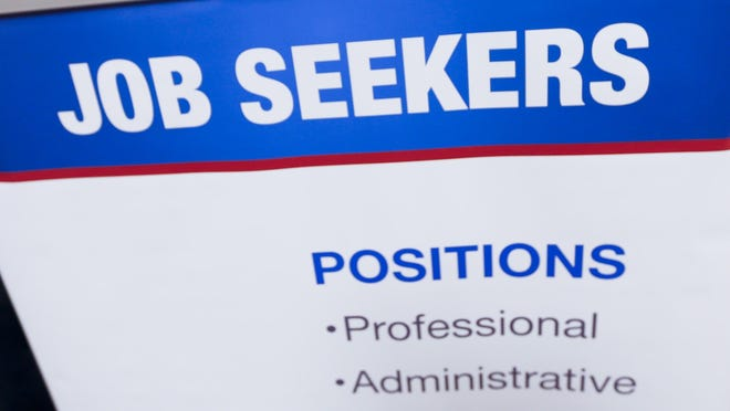 The Labor Department reported Tuesday that 5.4 million people found jobs last month, a 5.8 percent jump from January and the most since November 2006.