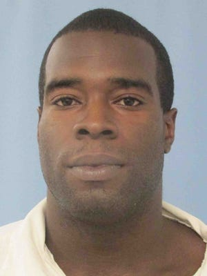 Inmate Jonathan Morris Hill was recaptured at 11:17 a.m. Wednesday in a wooded area behind the Camden Work Release Center.