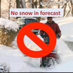 It is not going to snow in Morris County today or tomorrow. Our weather forecast has gone haywire.