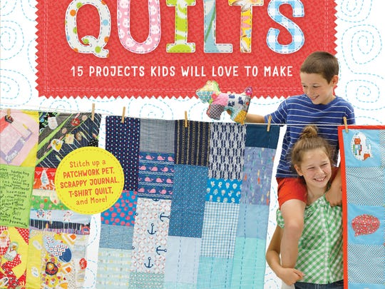 """Sewing School Quilts"" is the third book in the ""Sewing"