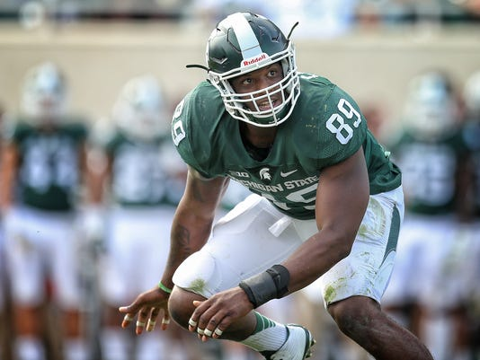 NCAA Football: Central Michigan at Michigan State