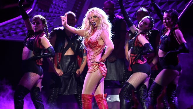 Britney Spears at the Billboard Music Awards in Las Vegas, May 22, 2016.