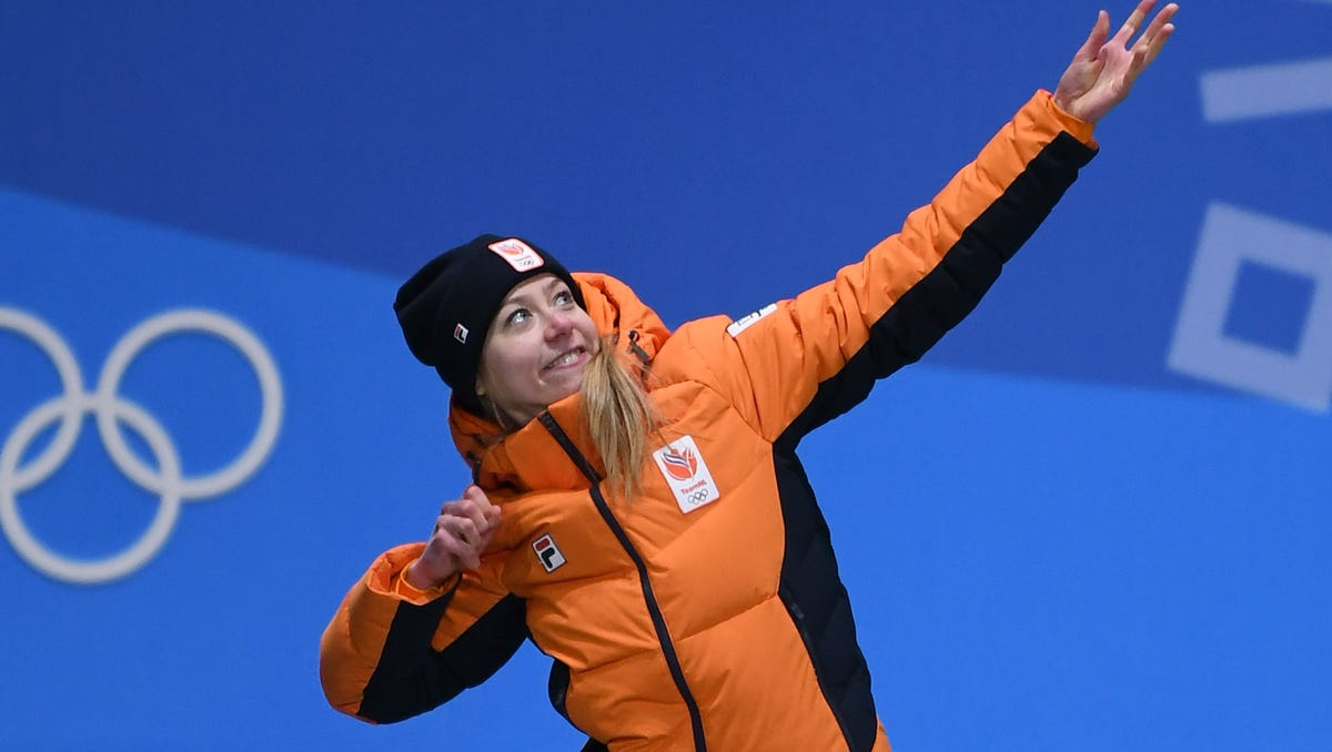 Dutch speed skating team the most dominant team at these Winter Olympics