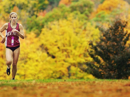 The Staatsburgh State Historic Site offers running trails and myriad views of the mid-Hudson Valley nature. Seen here, New Paltz's Natalie Busby runs in the 2009 Mid-Hudson Athletic League girls cross country championship race, one of many high school events held at the site each year.