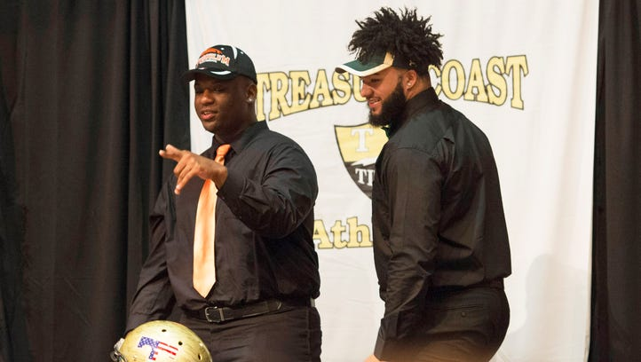 National Signing Day a success for Treasure Coast High School