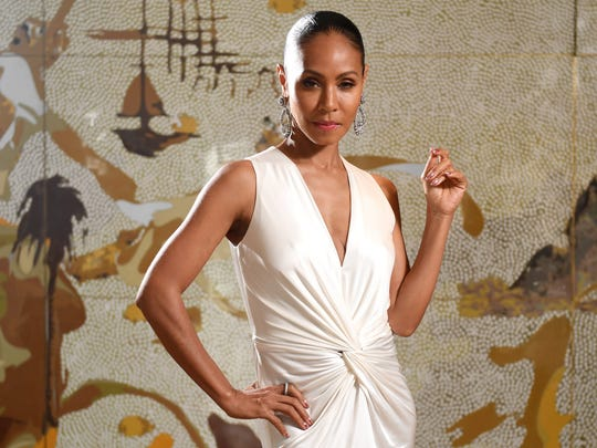 Jada Pinkett Smith strikes her pose in Sydney, New South Wales, Australia, Tuesday. Jada Pinkett Smith is in the country promoting the film 'Girls Trip,' which opens nationally on Aug. 31.