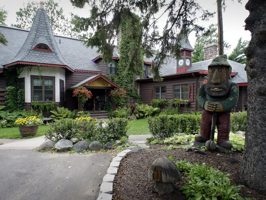 Garmisch USA was built with a hunting lodge feel on