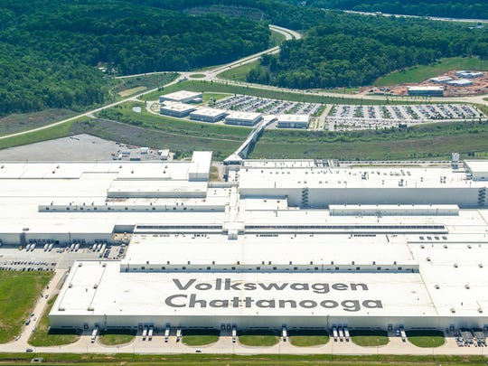 Some workers at the Volkswagen plant in Chattanooga,