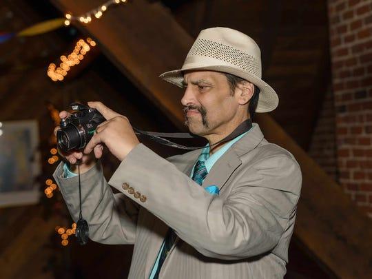 Michael Gerchman, Grace's father, captures some memories
