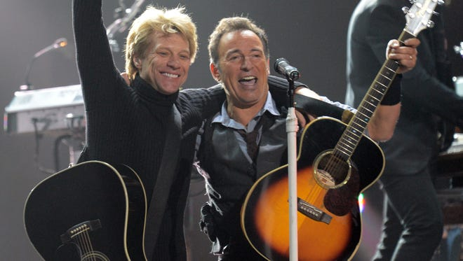 Jon Bon Jovi and Bruce Springsteen might hold the 'key' to Hillary Clinton winning in November.
