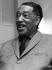 FILE--The late jazz great Duke Ellington is shown in