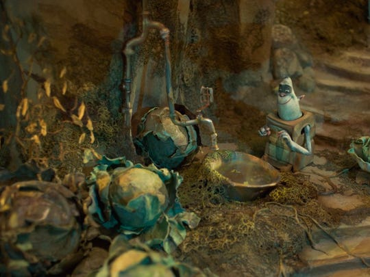 """A scene from the animated film """"The Boxtrolls."""""""