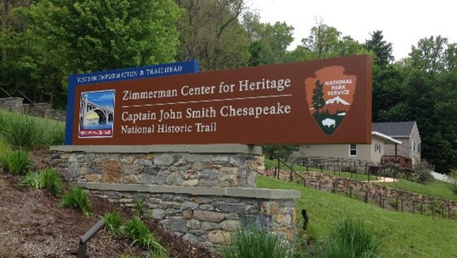 The Zimmerman Center has been designated as a visitor's center for the National Park Service's Captain John Smith water trail, which covers 3,000 miles in the Susquehanna and the Chesapeake Bay watershed.