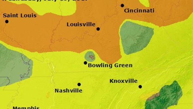 AirNow forecast from the US EPA.