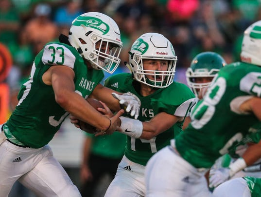 Friday Night Football: Monahans vs Wall, Sept. 1, 2017