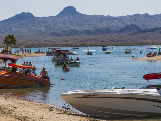 Lake Havasu City en Arizona.