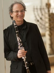 Clarinet player Franklin Cohen will be the guest soloist