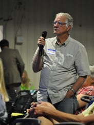 Those who attended the Carlsbad Housing Summit Wednesday,