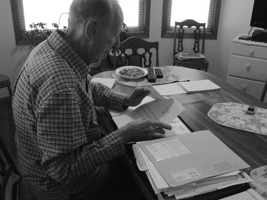 Cedar Rapids resident James Robertson has kept decades of records that helped the IRS determine that he had been misclassified as a contract worker.