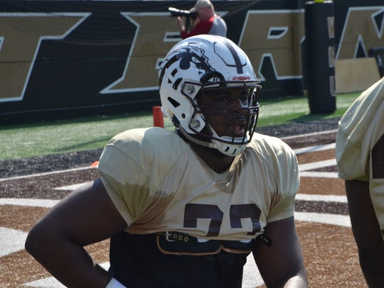 Western Michigan offensive tackle Chukwuma Okorafor.
