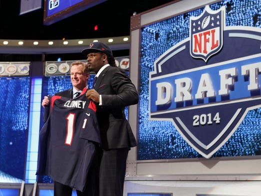 No. 1: Jadeveon Clowney, DE/OLB, Texans (South Carolina)