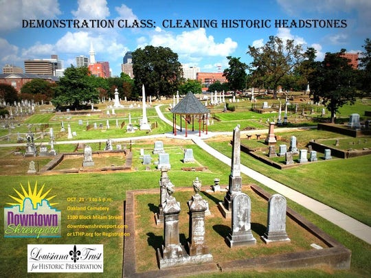 cemetery cleaning slide