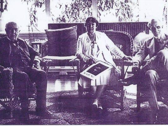 TAE henry and clara porch at mangos ca.1925