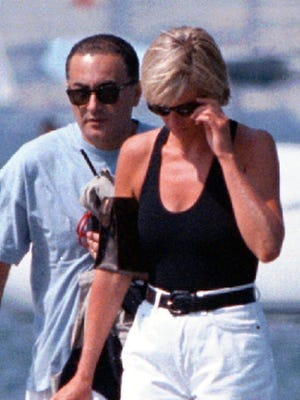 Aug. 31, 2017 marks the 20th anniversary of the deaths of Princess Diana, right, and Dodi Fayed.
