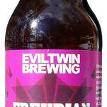 Freudian Slip, a 10.3 percent ABV barleywine from Evil Twin, is made at Two Roads brewery in Stratford, Conn.