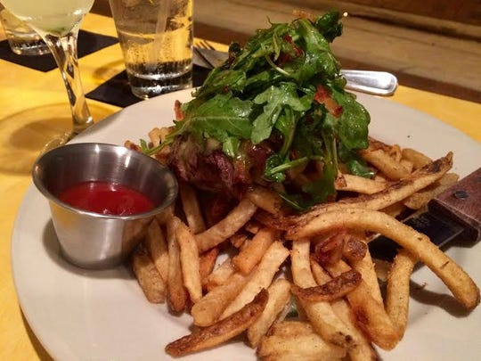 Steak and Fries from The Standard.