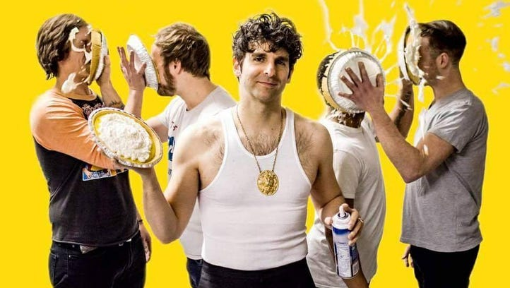 Low Cut Connie (and perhaps a pie or two) will be at Arden's Gild Hall on April 8 with Delaware rockers Scantron opening.