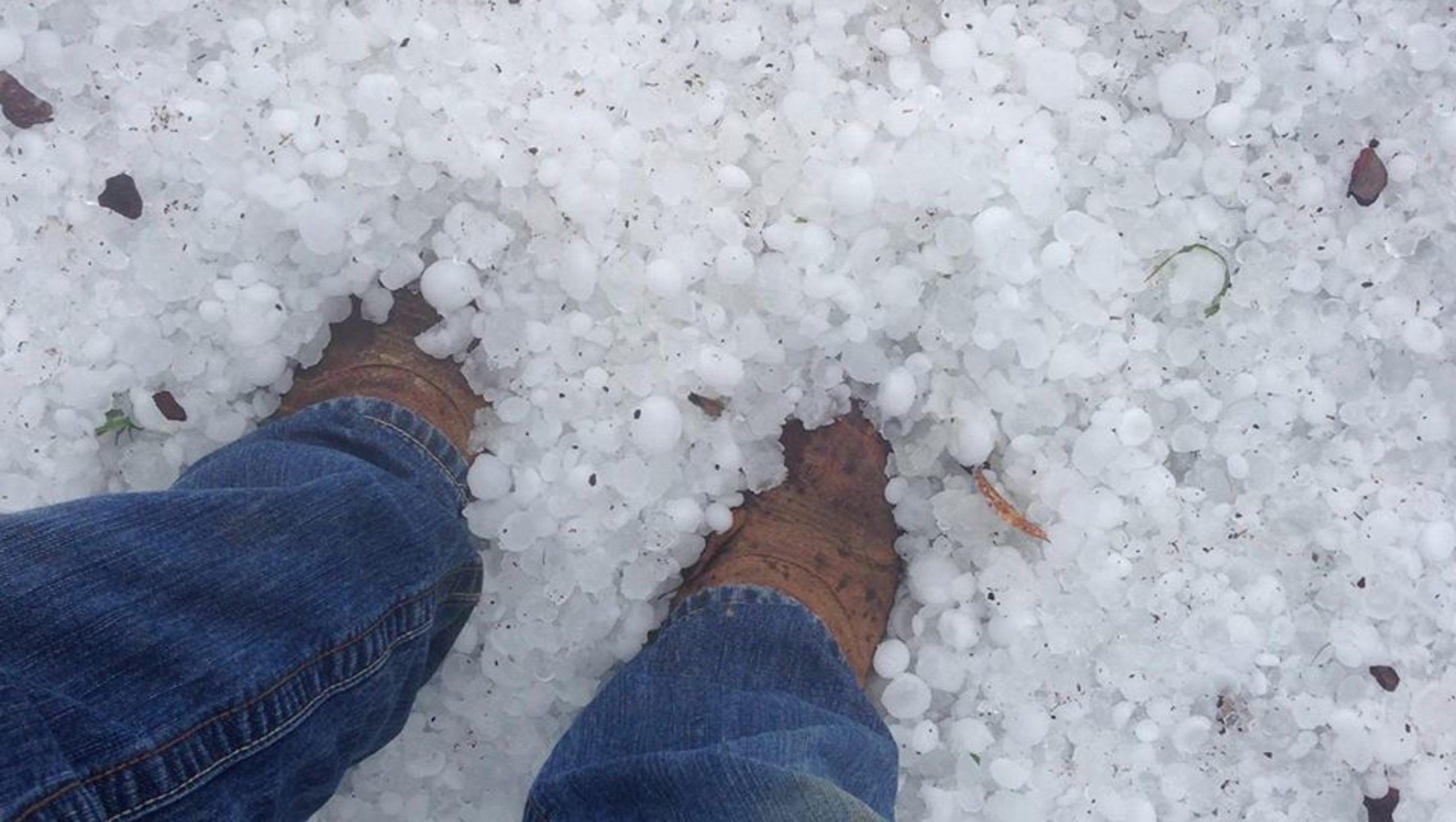 st  patrick u0026 39 s day hail storm