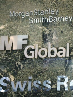 Brokerage MF Global collapsed in bankruptcy in 2011