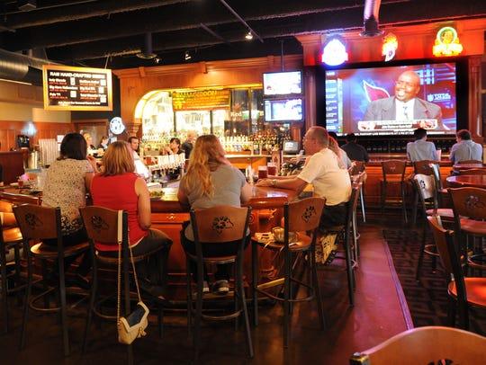 Ram Restaurant & Brewery 140 S. Illinois St.,