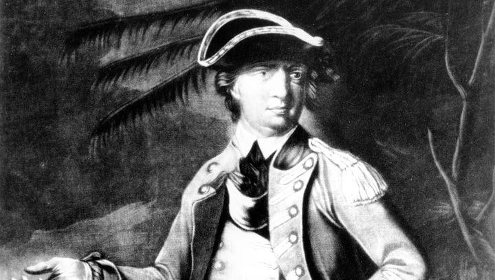 Gen. Benedict Arnold by an unknown artist. The American