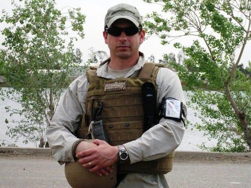 Humana associate and military veteran Charles Moore.