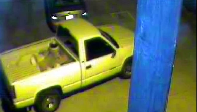 TBI is seeking information about this pickup in connection with the slaying of Donnie Cooksey.