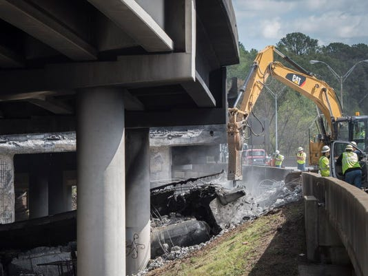 EPA USA INTERSTATE FIRE COLLAPSE DIS TRANSPORT ACCIDENT USA GA