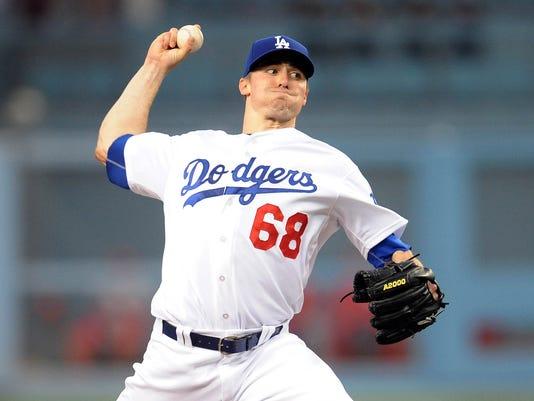 USP MLB: ST. LOUIS CARDINALS AT LOS ANGELES DODGER S [BBA OR BBN] USA CA