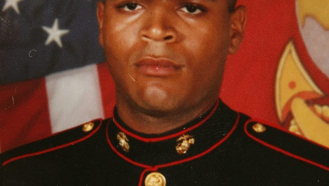 Photograph of Marine Cpl. John Malone of Yonkers  copied on Sept. 25, 2009, who was killed in the Afghanistan war.  Photo courtesy of Josh Blumenstetter.