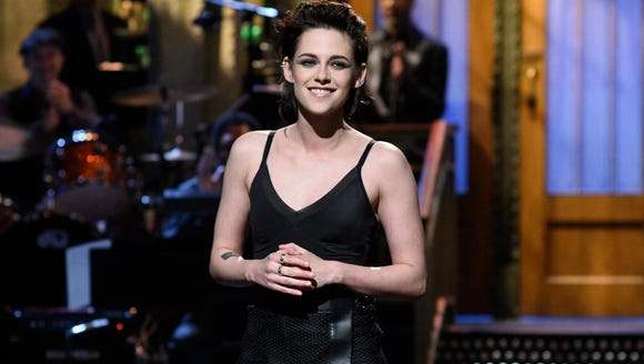 Kristen Stewart hosted 'SNL' on Feb. 4.
