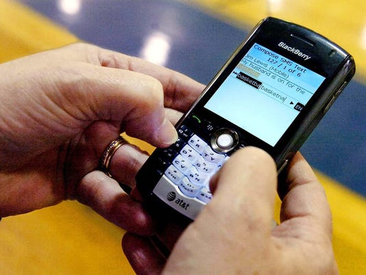 CELL PHONE TEXT MESSAGE